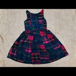 LN RALPH LAUREN Plaid Cotton Flannel Dress 6